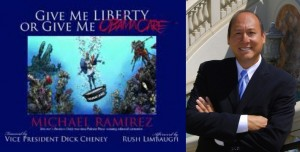 Michael Ramirez Give Me Liberty