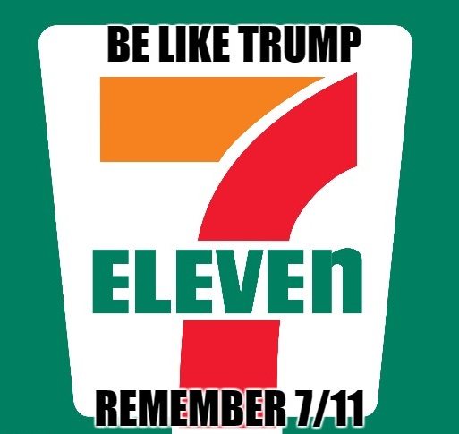 12qwui did you hear what trump said about 7 eleven? conservative book club