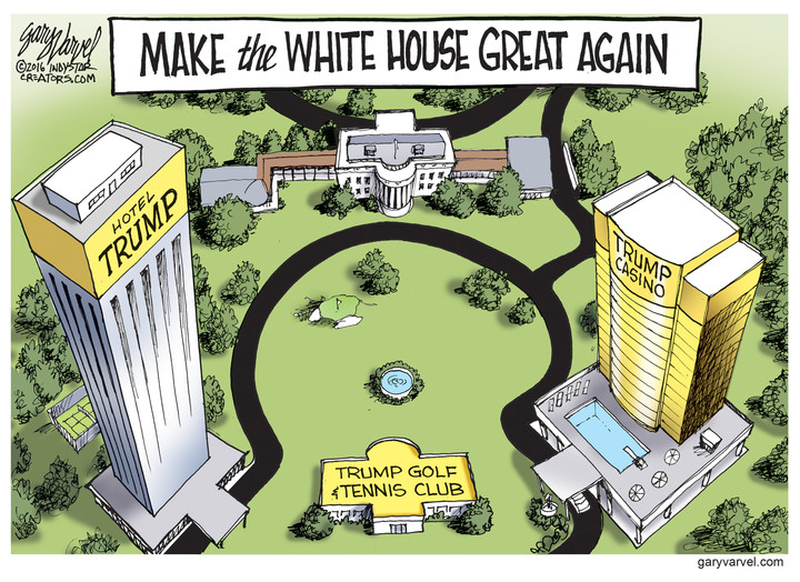 How Trump Will Remodel The White House | Conservative Book ...