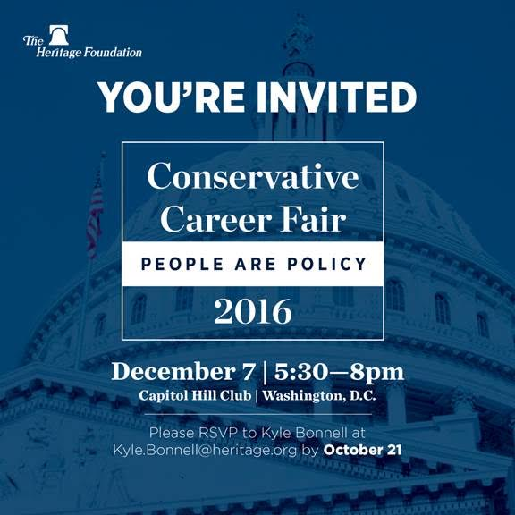 conservative career fair