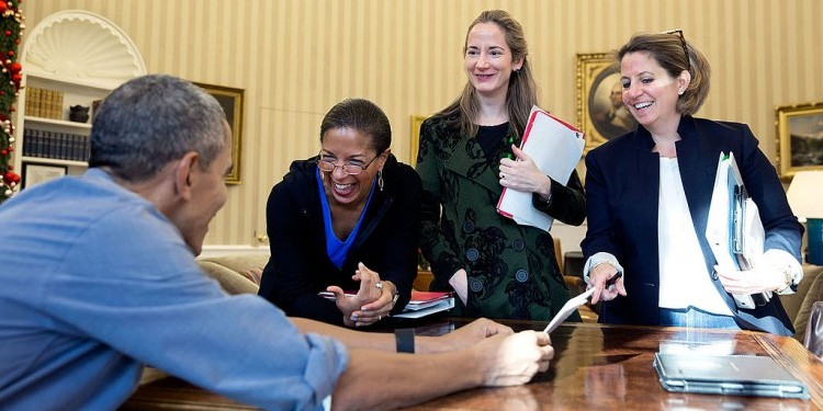 Susan Rice and Obama