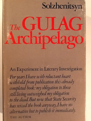 the gulag archipelago i